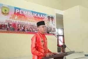 Dinsosnaker Kota Tanjungpinang Menjadi Fasilitator Untuk Peningkatan Tenaga Kerja Mandiri