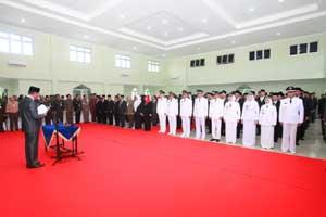 157 Pejabat Struktural Pemko Tanjungpinang di Lantik