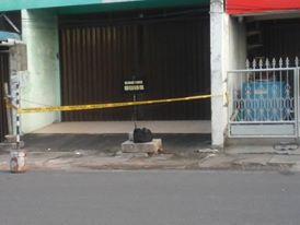 Tas Hitam Diduga Berisi Bom, Ditemukan Dijalan Pos