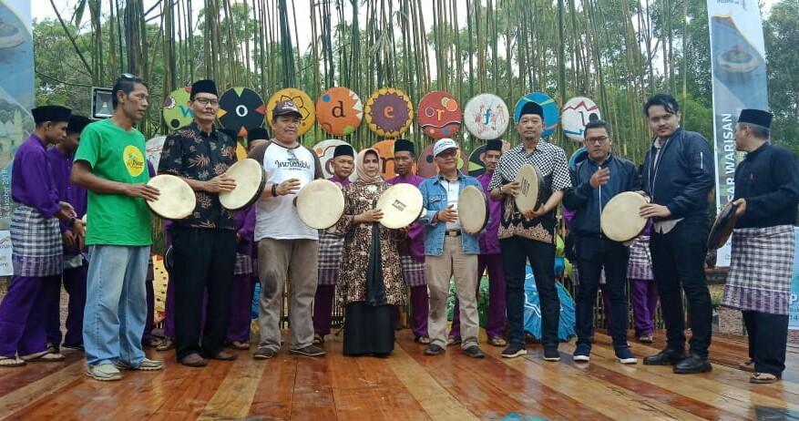 Wawako Resmikan Pasar Warisan Di Bukit Kursi Pulau Penyengat