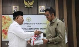 Bintan Raih Opini WTP Dari BPK Perwakilan Prov Kepri